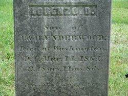 Pvt Lorenzo Daniel Underwood