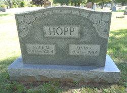 Alice M <I>Price</I> Hopp