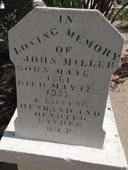 "John Robert ""Jackie"" Miller"