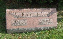 Verna <I>Isenberg</I> Bayles
