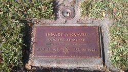 "Shirley ""Sarah Ada"" <I>Gross</I> Krauss"