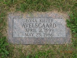 Edna <I>Kiefer</I> Avelsgaard - Moen