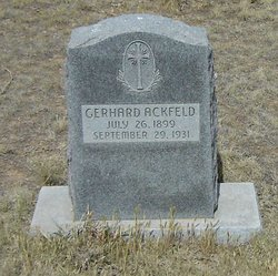 "Gerhard ""Ackfeld"" Ackfelt"