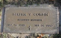 Bertha V. <I>Dickerson</I> Corbin