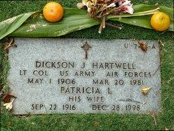 Dickson J Hartwell