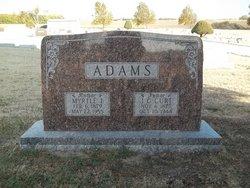 "John Curtis ""Curt"" Adams"