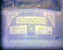 "Monte M ""Mont"" Robinson"