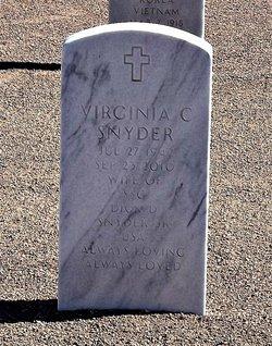 Virginia Carleen <I>Peck</I> Snyder