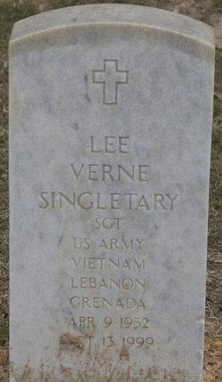 Lee Verne Singletary