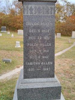 Tabitha <I>Ward</I> Allen