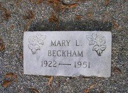 Mary Lee <I>Beckham</I> Beckham