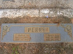 Mary Aline <I>Leachman</I> Perry