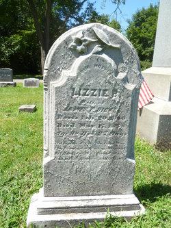 "Elizabeth B ""Lizzie"" <I>Hunsberger</I> Bickel"