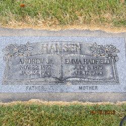 Emma <I>Hadfield</I> Hansen