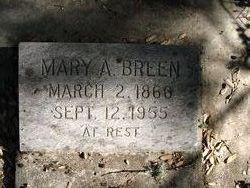 Mary Agnes <I>Kerr</I> Breen