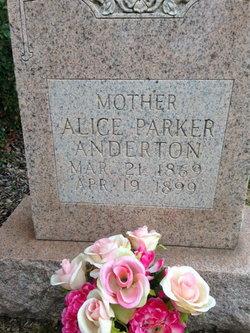 Alice <I>Bush</I> Anderton