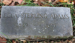 Ella Lundie <I>Sterling</I> Adams