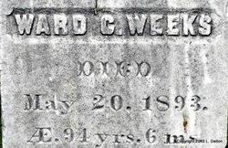 Ward C. Weeks