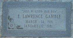 Edward Lawrence Gamble