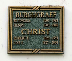 Henry Burghgraef
