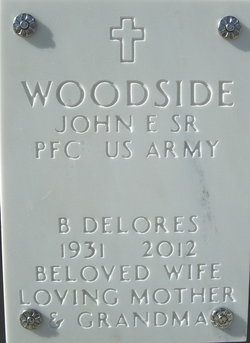 "Betty Delores ""Dorie"" <I>Kirkpatrick</I> Woodside"