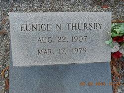 Eunice N Thursby