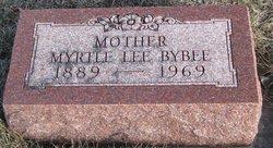 Myrtle Lee <I>Shive</I> Bybee
