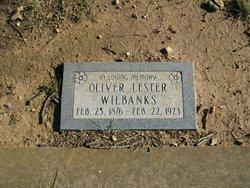 "Oliver Lester ""Ollie"" Wilbanks"
