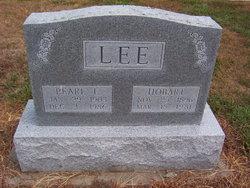 Pearl <I>Cunningham</I> Lee