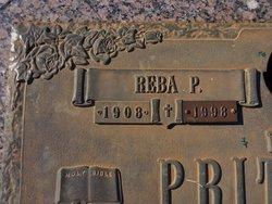 Reba <I>Pritchett</I> Pritchett