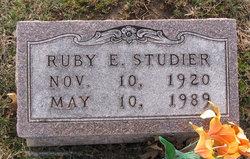 Ruby E <I>Mullens</I> Studier