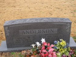 Ernest M Anderson