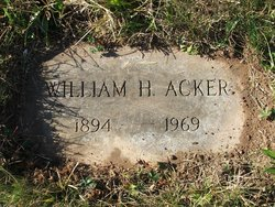 William H Acker