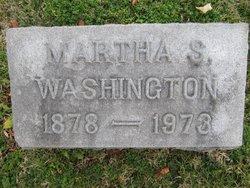 Martha Lanier <I>Scruggs</I> Washington