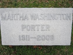 Martha Emily <I>Washington</I> Porter