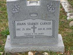 Joann <I>Starkey</I> Garner