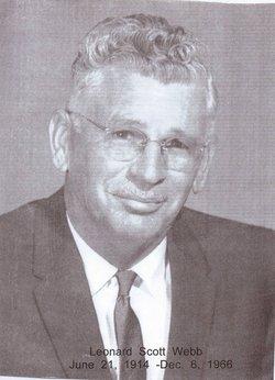 Leonard Scott Webb