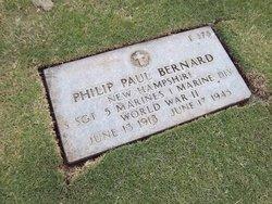 Sgt Philip Paul Bernard