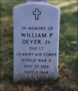 2Lt William P Dever Jr.