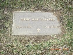 Ossie Mae <I>Dancer</I> Beavers