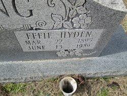 Effie <I>Hyden</I> Manning