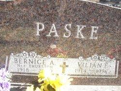 Vilian Fredrick Paske