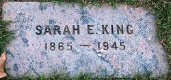 Sarah E <I>Colpitts</I> King