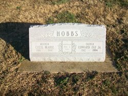 Cecil Marie <I>Ball</I> Hobbs