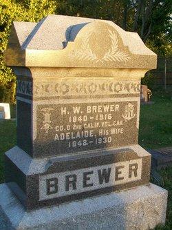 Adelaide S. <I>Taylor</I> Brewer
