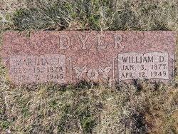 Martha Jane <I>Palmer</I> Dyer