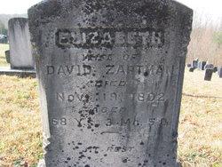 Elizabeth <I>Dressler</I> Zartman