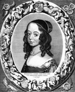 Henriette Catharina <I>Van Nassau</I> von Anhalt-Dessau