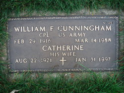 William F Cunningham