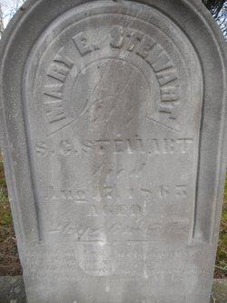Mary E. <I>Hess</I> Stewart